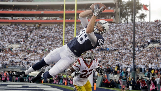 Penn State's Mike Gesicki is a candidate to win the Mackey Award as the nation's top tight end.