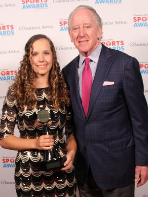 St. Agnes golf standout Rachel Heck and football Hall of Famer Archie Manning were part of last year's Commercial Appeal Sports Awards.