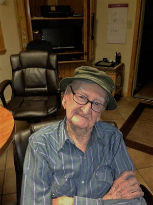 Dan Richards is a veteran of World War II who, though wounded and disabled, survived three landings. He turned 100 on Tuesday. There is a birthday party for him today at 4 p.m. at the VFW in Mountain Home. Dan likes playing bingo and cards with friends.