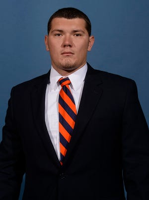 "Auburn long snapper Forrest Hill is ""day-to-day"" with an undisclosed injury."