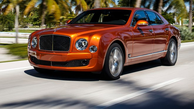 Bentley Mulsanne is a big, expensive car with a really powerful engine
