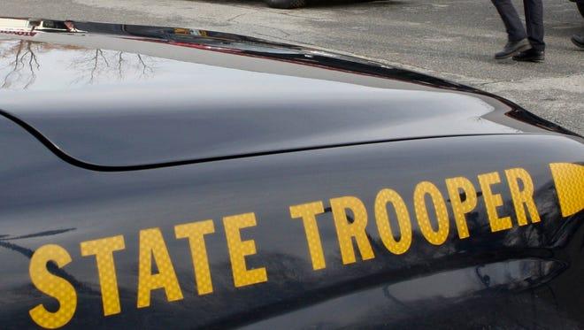 New York state trooper's cruiser.