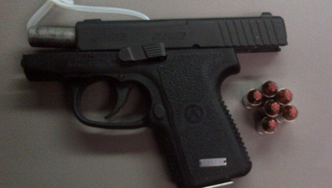 Officials at Nashville International Airport have discovered a loaded gun inside a passenger's carry-on bag.