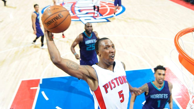 Pistons' Kentavious Caldwell-Pope was named to the USA Men's Select Team on Tuesday.