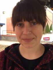 Danielle Warren, 29, voted at Roberson High School