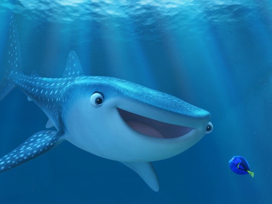 """A whale of a tale: """"Finding Dory."""""""