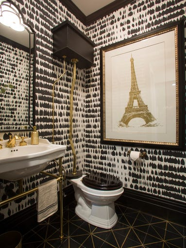 Drew honeymoon house powder room