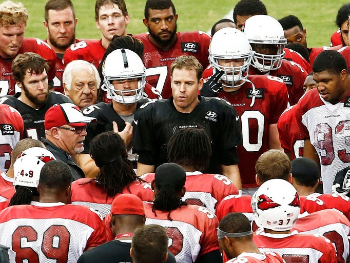 The Cardinals starters won't play against the Chargers Thursday in the final preseason game, and by Friday morning the outcome of the game will be forgotten by many. But that doesn't mean the game is unimportant to the players who will take the field. It's their last chance to impress coaches, and Cardinals coach Bruce Arians has said around five roster spots are open. NFL teams must trim their rosters to 53 by Saturday afternoon, and the Cardinals are expected to start the process on Friday. Here are Kent Somers' projections for the 53-man roster.