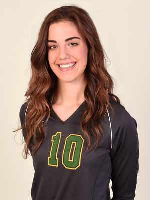 Bishop Manogue's Katelyn Oppion is the 2014 RGJ All-North Division I volleyball player of the year.