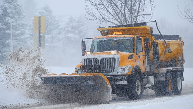 File photo: Sioux Falls Public Works snow plow