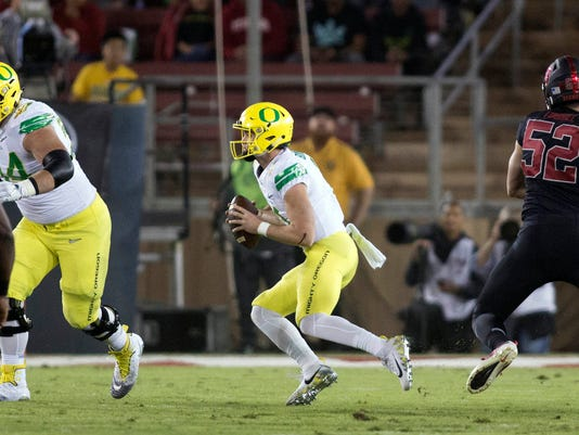 NCAA Football: Oregon at Stanford