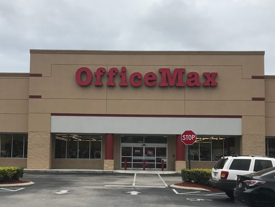 The OfficeMax in Jensen Beach will soon close.