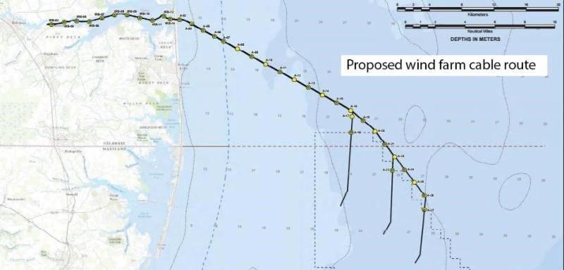 Offshore wind farms near reality for Delmarva