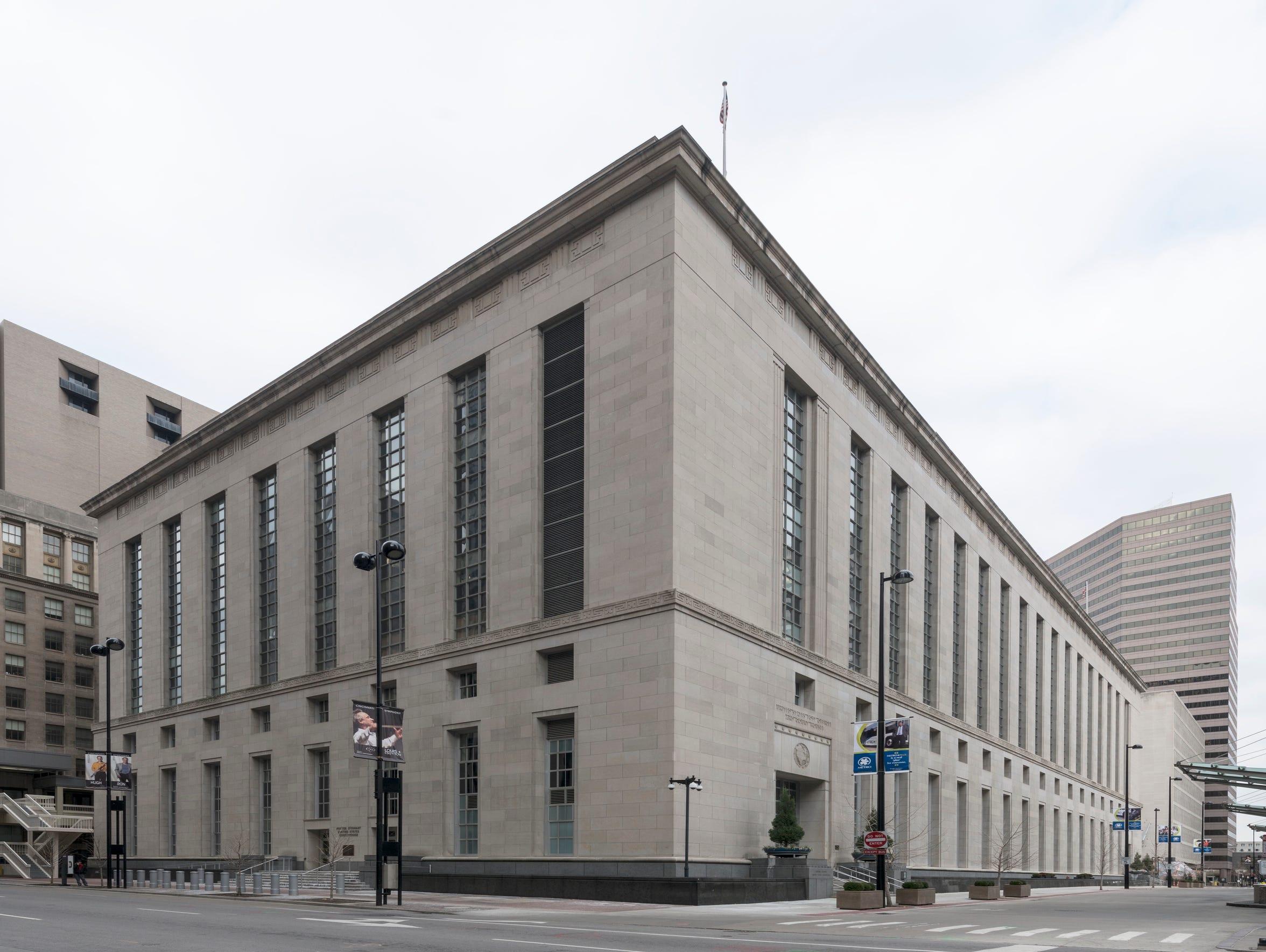 Potter Stewart Courthouse in Cincinnati, Ohio is home