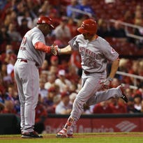 Reds' Adam Duvall continues to prove doubters wrong