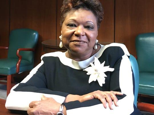 Jo Anne G. Mondowney, executive director of the Detroit Public Library.