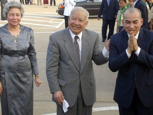 AFP CAMBODIA-POLITICS-KING POL CONSTITUTION KHM