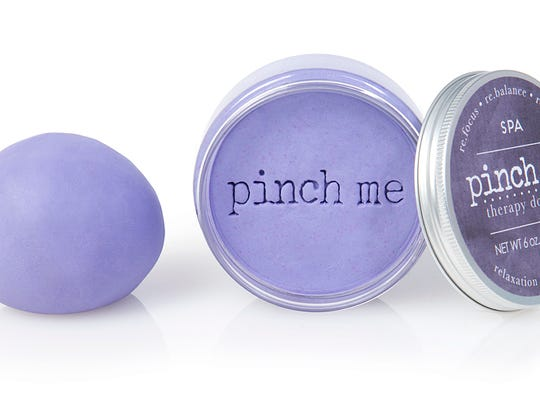 Pinch Me Therapy Dough, a stress relieving product