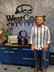 Chuck Romano, owner and president of West Coast Collision