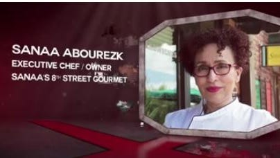 Sanaa Abourezk competes March 3 on Beat Bobby Flat