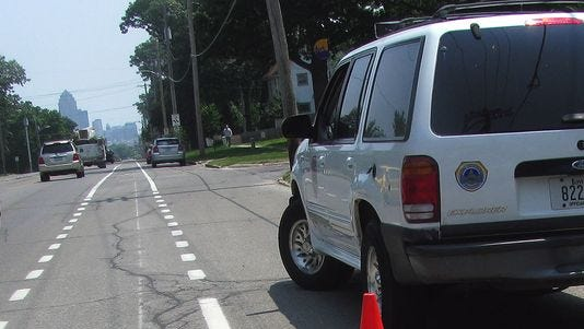 Six Iowa cities that use the cameras for either red light or speeding enforcement — Des Moines, Davenport, Muscatine, Cedar Rapids, Council Bluffs and Sioux City — were required to turn in reports to the DOT on Thursday that outline each city's justification for using the cameras.
