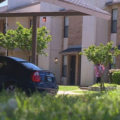 Dallas police said a woman found her infant son unresponsive