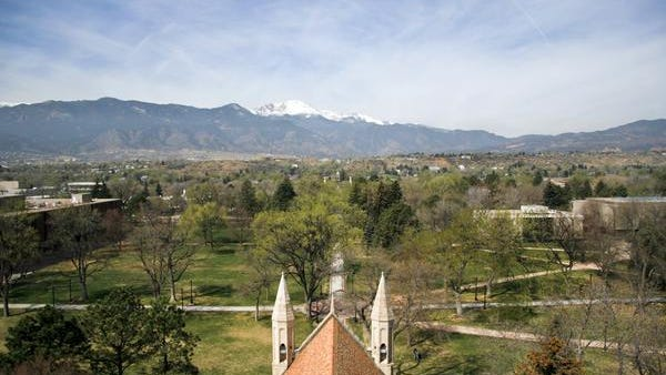 8. Colorado Springs, Colorado. Pictured: Colorado College.
