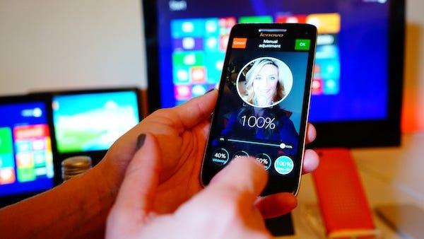 Lenovo's Facelift app.