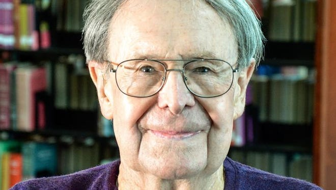 """William D. """"Bill"""" Harvey led a vibrant theater arts program during his 36 years at Olympic College before retiring in 1995. The theater in the new College Instruction Center will be named for him."""