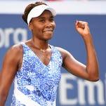 Venus Williams advances U.S. team at Fed Cup.