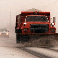 A TDOT salt truck struck and killed a man in his 40s this morning.