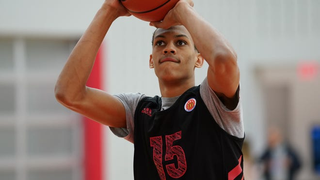 McDonald's All American Darius Bazley of Princeton High School discusses his choice to enter the G League.