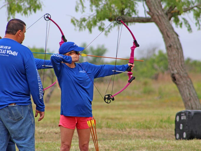 Archery class is one of the staple events at Rockport