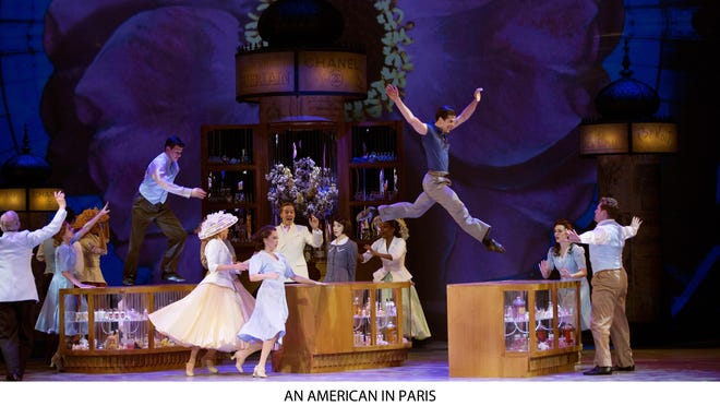 """""""An American in Paris"""" received 12 Tony nominations, including best musical."""