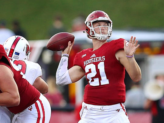 Hoosiers QB Richard Lagow finished second in the Big Ten in passing yards.