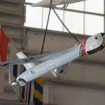 Naval Aviation Museum adds a new aircraft to the Coast Guard exhibit.