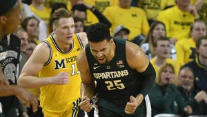 Kenny Goins and Michigan State are ahead of Ignas Brazdeikis and Michigan in this week's Associated Press Top 25.