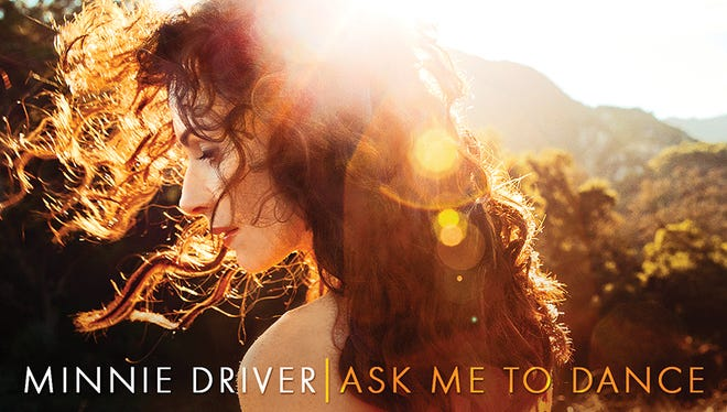 Minnie Driver's 'Ask Me to Dance' goes on sale Oct. 7.