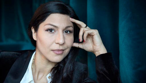 "In this photo taken in Dec. 2015, Swedish actress Bahar Pars poses during a photo call for the film ""A Man Called Ove"" in Stockholm, Sweden. Iranian-born Swedish actress Bahar Pars, who hopes to share an Oscar for best foreign film, says she and fellow actor Rolf Lassgard ""have decided to travel"" to the Academy Awards ceremony despite the confusion around U.S. President Donald Trump's travel ban."