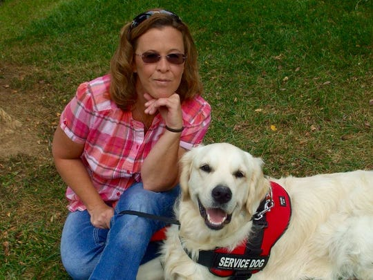 Stacey Irvin and Caleb Irvin from Positive Paws K-9 Training and Doggie Daycare.