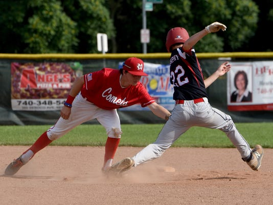 Licking County 15U Settlers 6, North Columbus Comets 4
