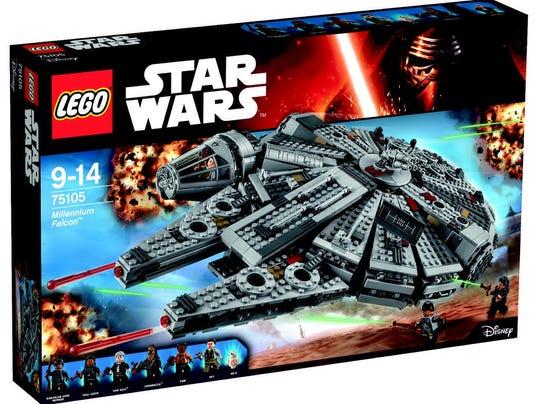 Lego Star Wars Millennium Falcon set, No. 75105