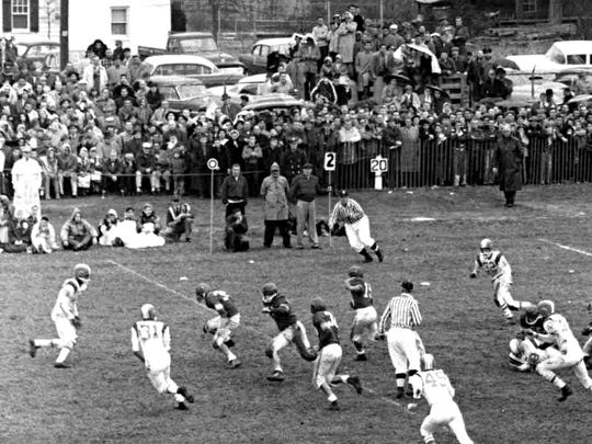 Vineland vs. Millville 1957 Football game.