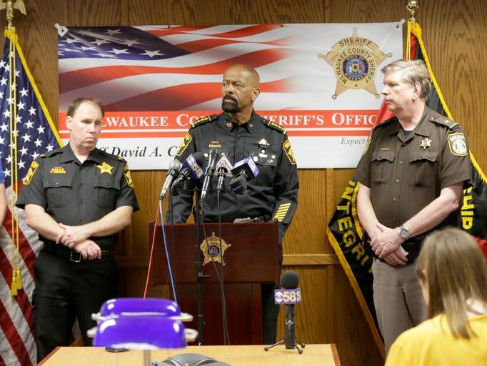 Milwaukee County sheriff's Deputy Inspector Tobie Weberg