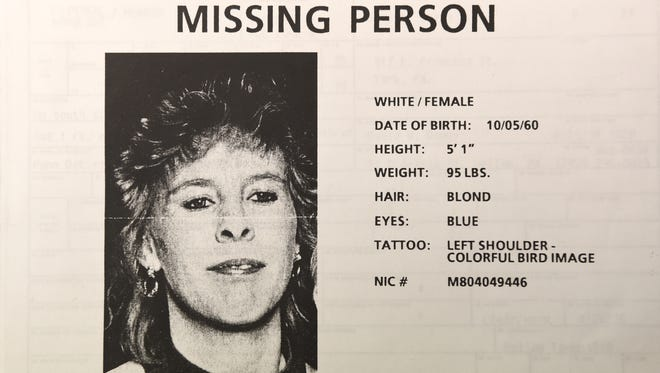 A missing person flyer printed a month before the body of Judy Smith was found is among the evidence in a Hellam Township Police cold case homicide. On Thursday, the York County Detectives Bureau reopened the 21-year-old unsolved case.