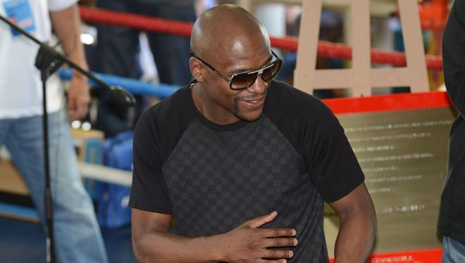 Floyd Mayweather said in South Africa he will fight for the last time in September 2015