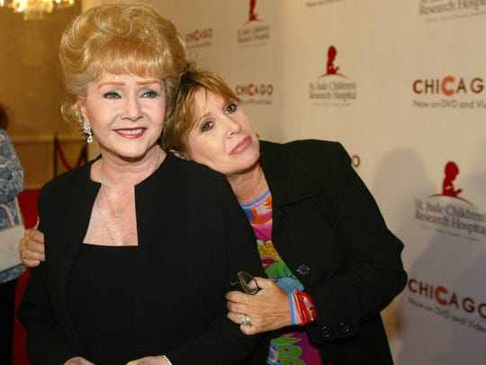 In this Tuesday, Aug. 19, 2003 file photo, Debbie Reynolds