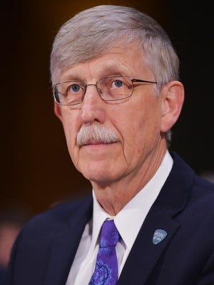 National Institutes of Health Director Francis Collins, shown Wednesday on Capitol Hill, cautions that before lawmakers rush to legalize pot, researchers need to better study its effects. Studies examining that in the past were difficult because the drug was illegal.