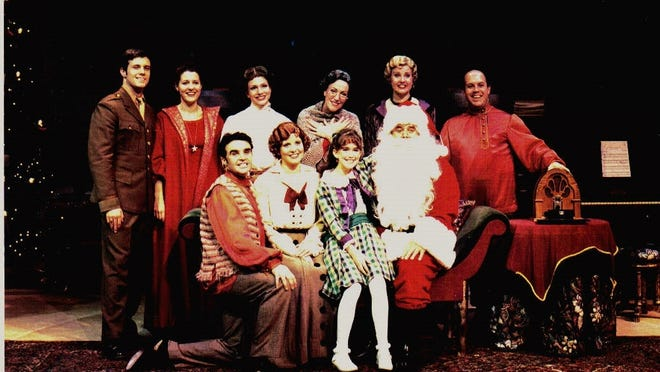 """""""It Happened One Christmas Eve"""" is at Westchester Broadway Theatre Dec, 4-28."""