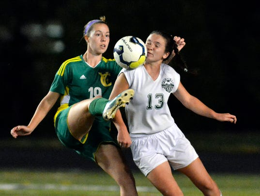 District 3 Class 1-A girls soccer title match